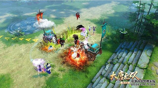 《大唐无双》周年庆资料片首曝  五大全新玩法揭秘